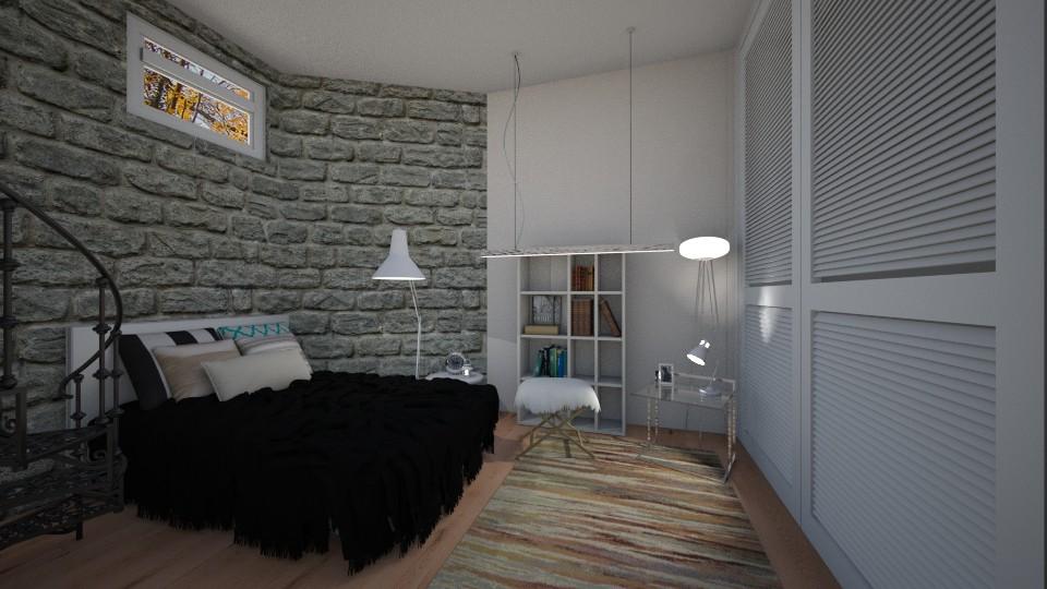Basement Bedroom 2 - Bedroom - by CatLover0110