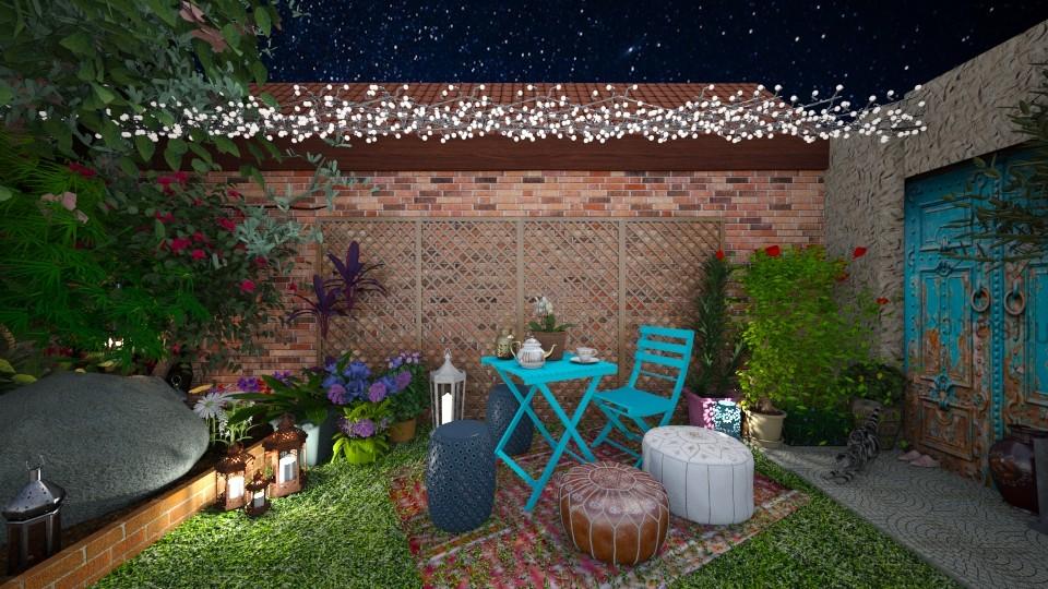 Small Courtyard - by AlexDi