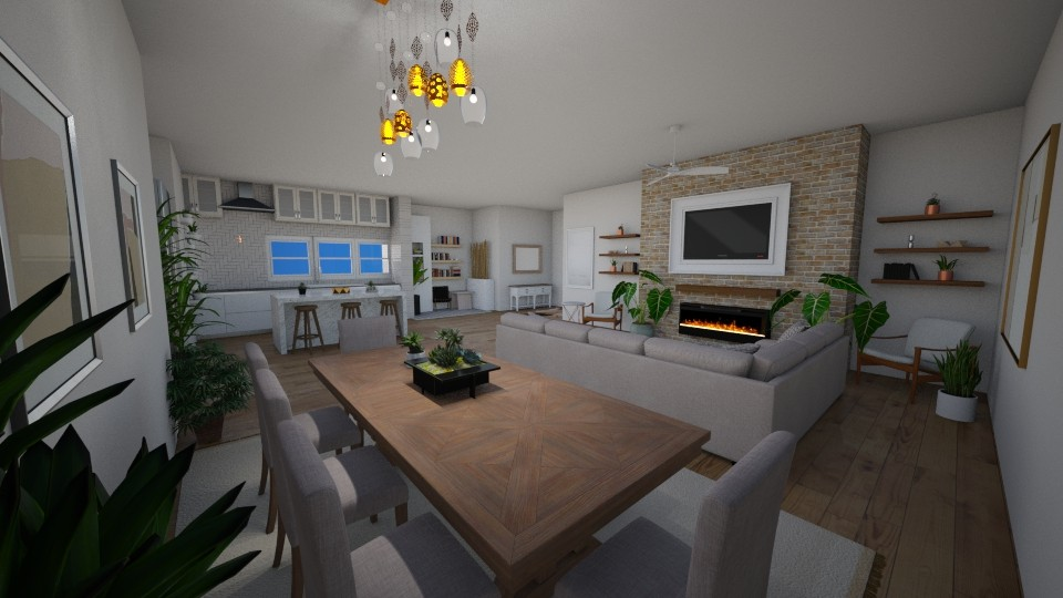 combo - Dining room - by dena15