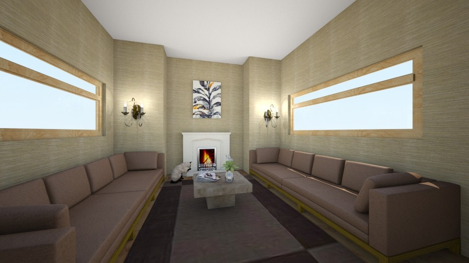 Simple - Living room - by AlinaZ