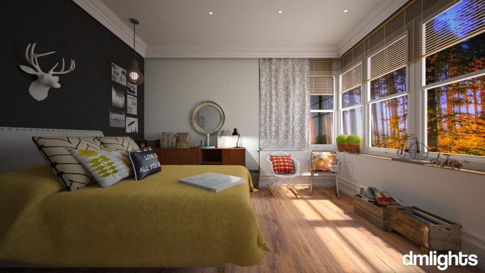 FALL RETREAT BEDROOM - by DMLights-user-981893