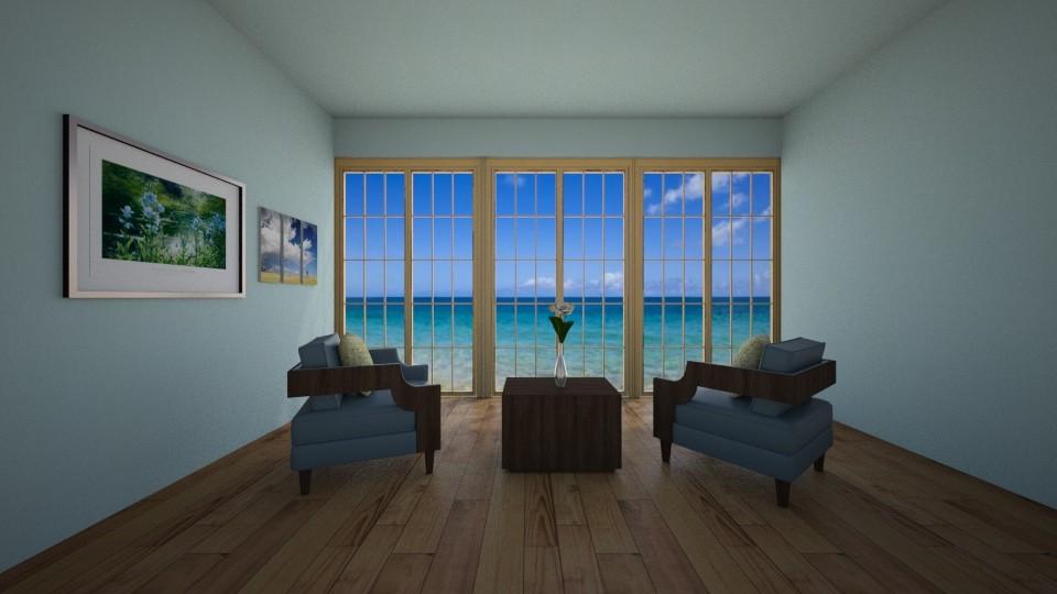 Beach Breeze - Living room - by New York Mets
