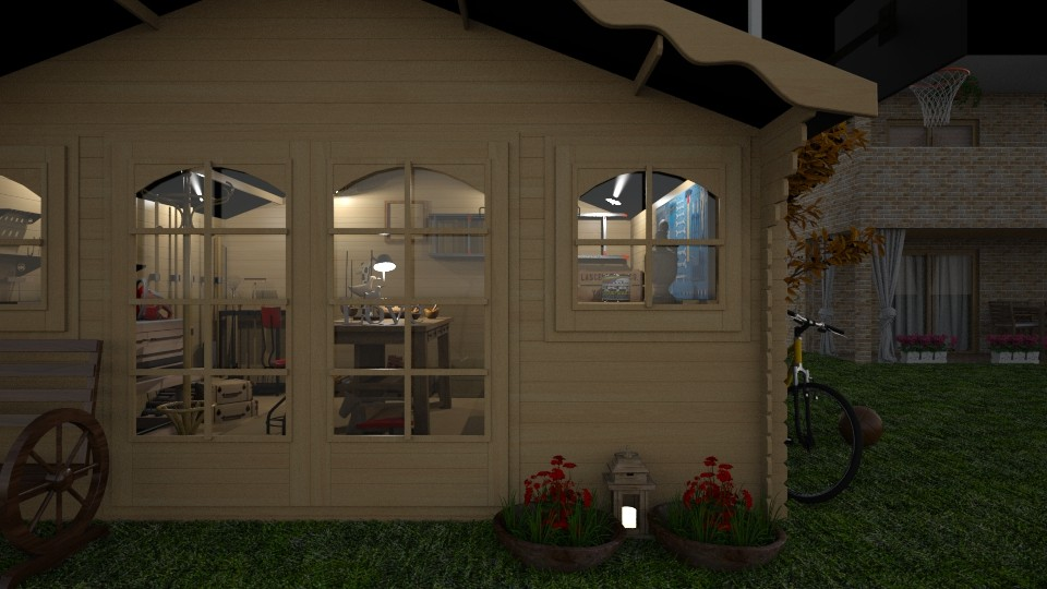 Wodworkers Shed - Classic - Office - by Annathea
