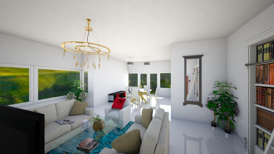 Ground Floor - Modern - Living room - by Yemascus
