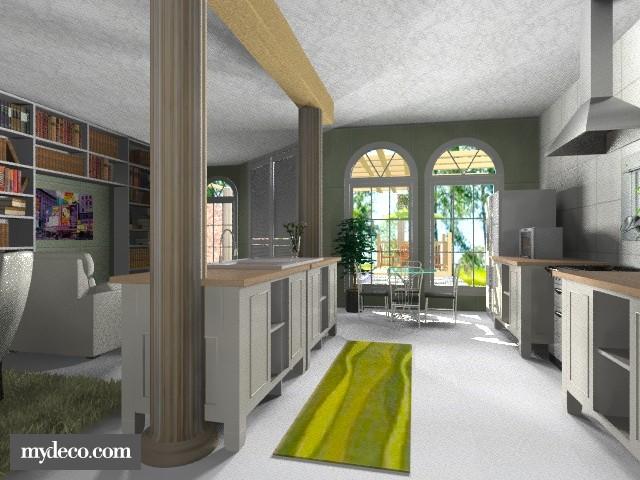 Economia de espaço - Modern - Kitchen - by nanavasconcellos