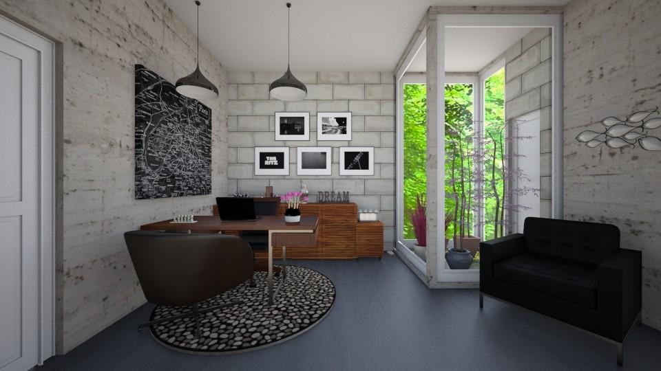 meu little - Office  - by camivieira94