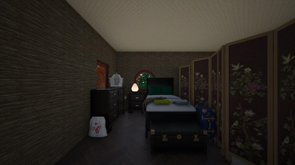 Interesting bedroom - by scourgethekid