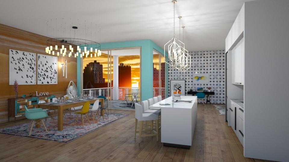 New York Apartment - by lizasvetlin