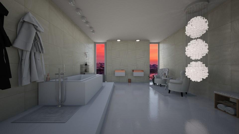 bathroom - by Sophie Cordeiro