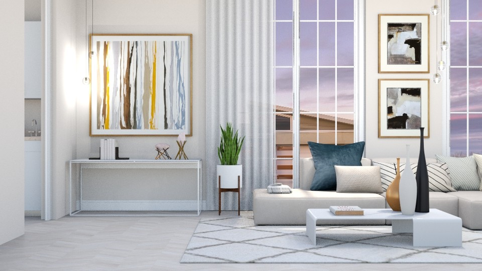 Calm - Living room  - by igell90