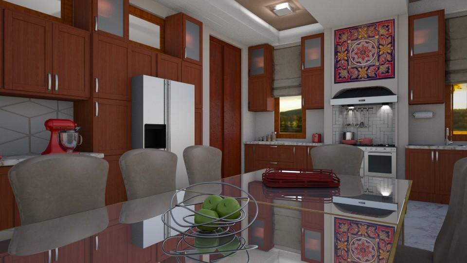 Laurens - Dining room  - by yonvie