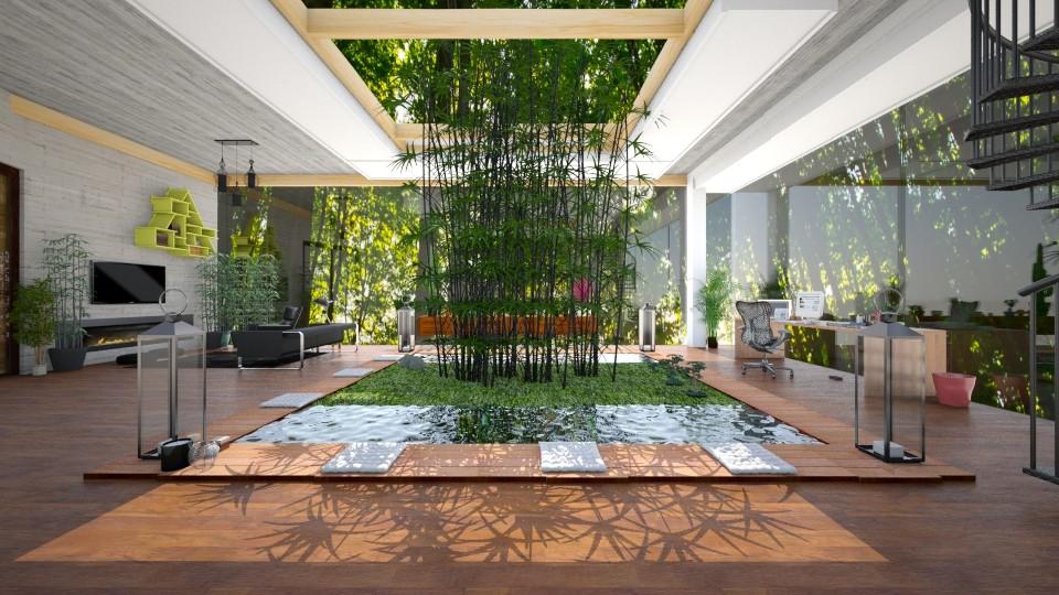 modern - Living room - by Mihailovikj Mimi