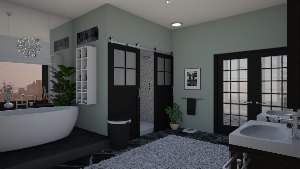 Bathroom in the City - by Molly Taylor