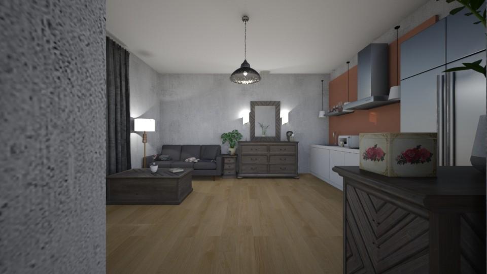 flat - by alexamakarchuk