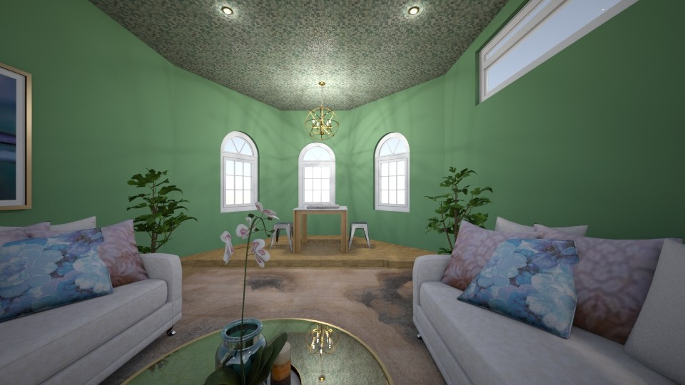 the aurora - Living room - by t harv