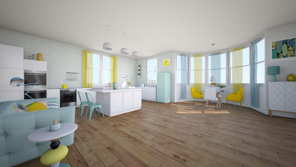 spring relax - Modern - Kitchen - by Georgina Holly