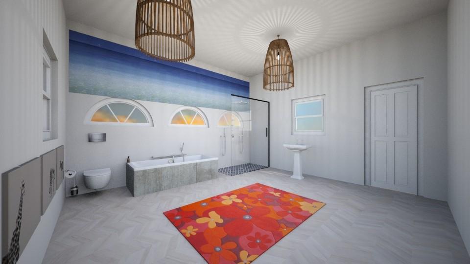 Mansion Bathroom - Bathroom - by Anna Weyer