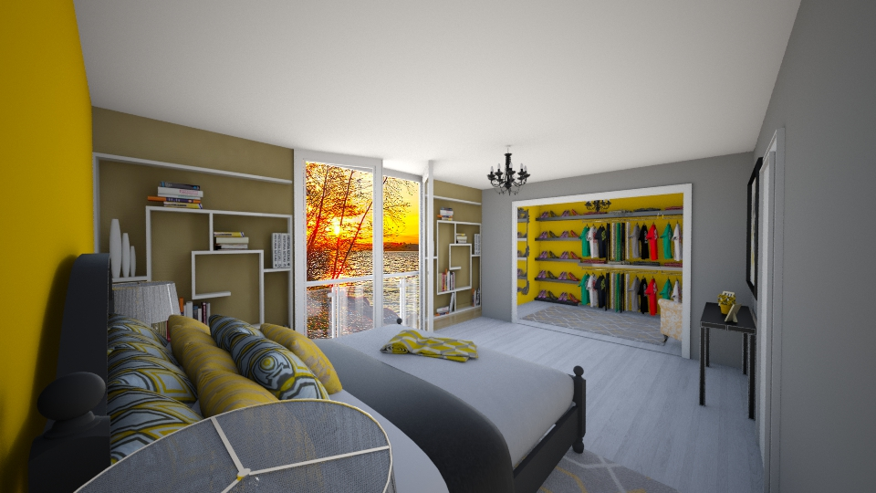 berlin - Bedroom - by seldina