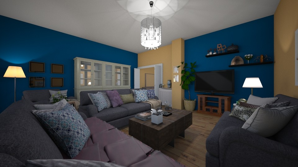 Depi - Living room - by Chrysa Karatzia