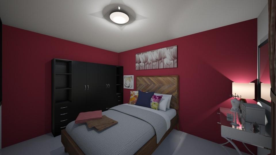 RA_Habitacion 1 - Bedroom - by Anliz