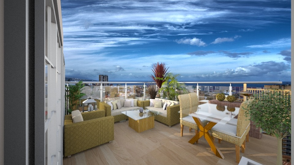 terraza1 - Garden - by Abaco