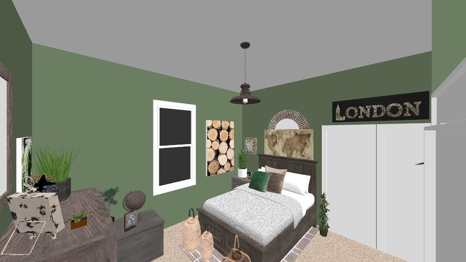 Outdoor Bedroom - Bedroom - by lillianpara