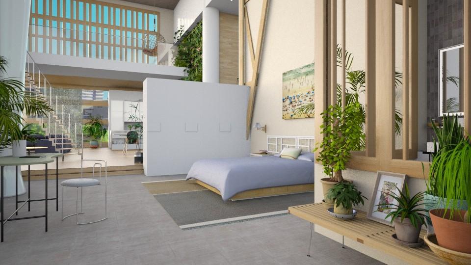 plant mama - Bedroom - by marinmarin