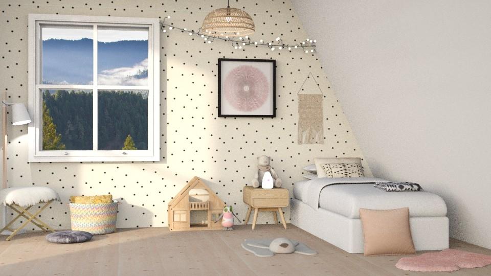 Little Girl - Kids room - by DeborahArmelin