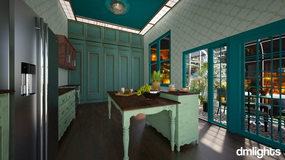 Green House - Kitchen  - by DMLights-user-1001197