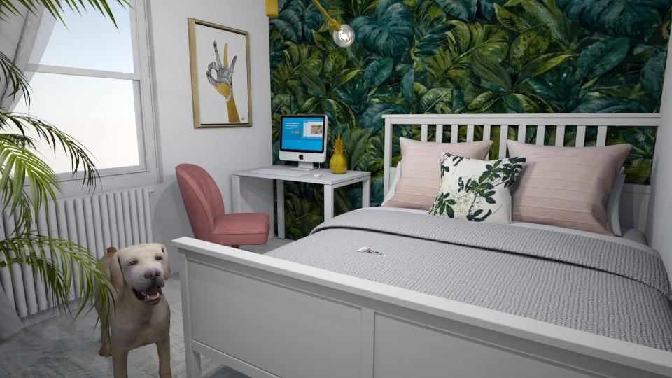 Jungle Bedroom III - Bedroom - by Psoglavik
