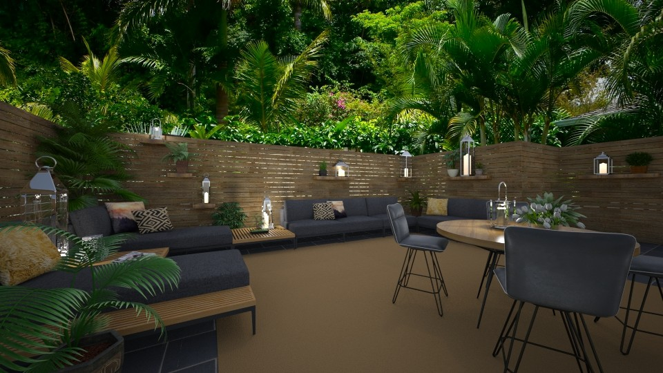 Patio Paradise - Kitchen  - by Lackew