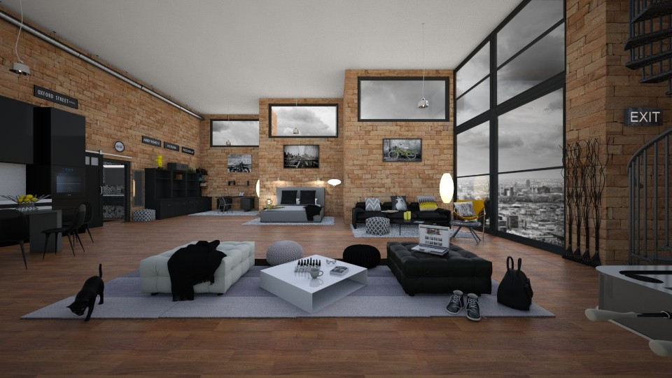 Luxury student loft - by Timea Fischer