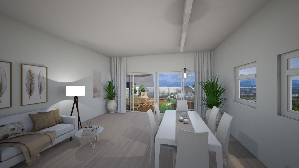 modern home - Living room - by reem11