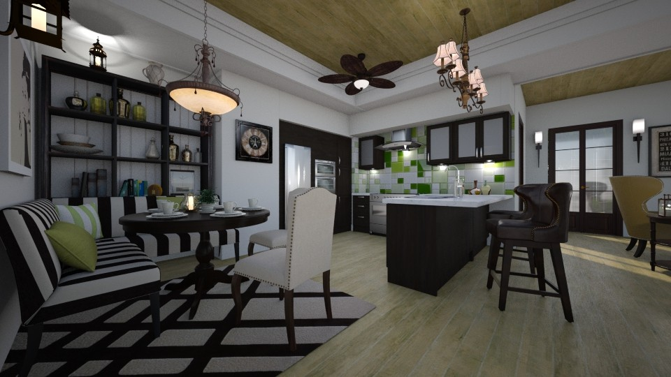 Bistro Inspired - Kitchen  - by Lackew
