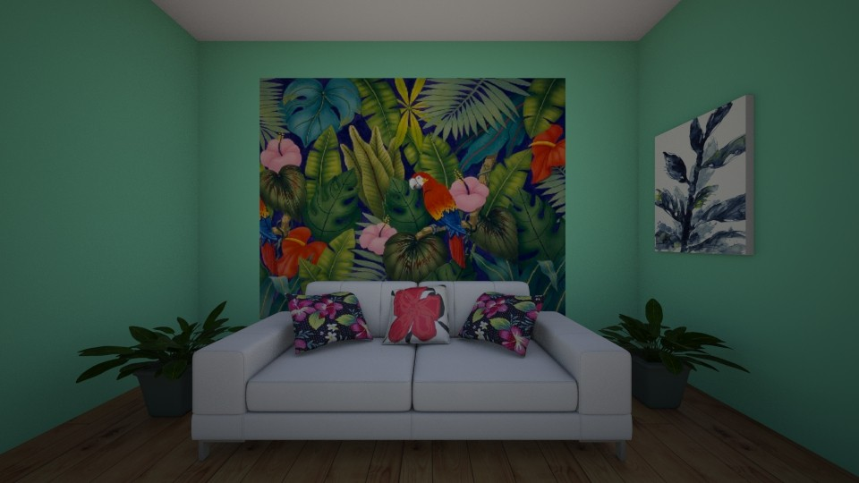 Tropical  - Living room - by New York Mets
