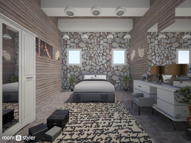 Barn Makeover  - Bedroom - by Anliz