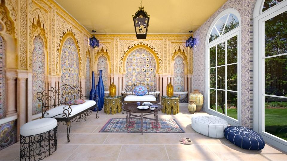marrocan style - Global - Living room  - by somooon15