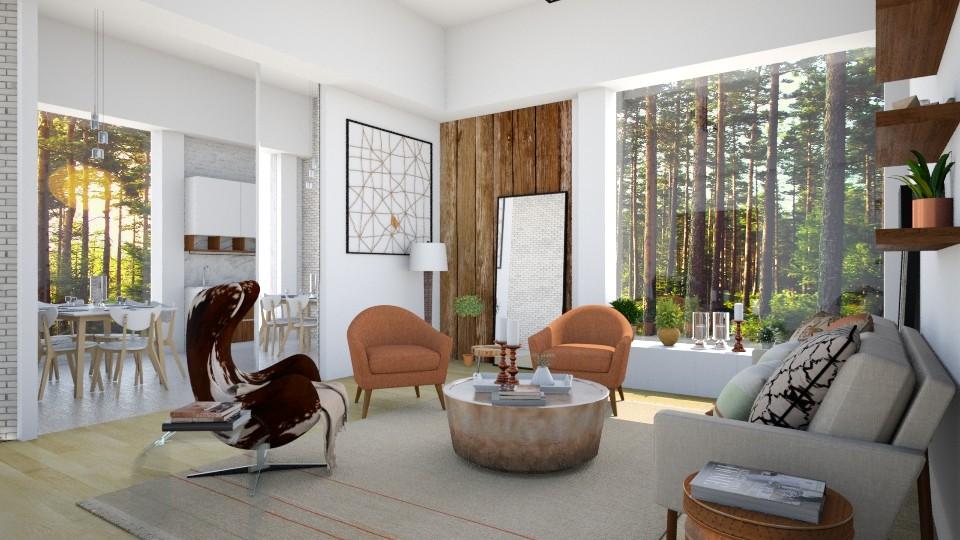 Rockabye - Living room - by Lucii