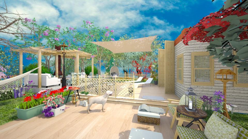 summer summer summer - Modern - Garden  - by lamzoi
