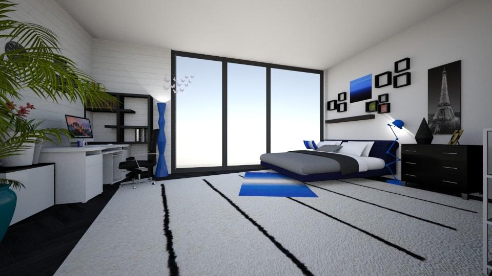 room01 - Modern - Bedroom - by 2bon