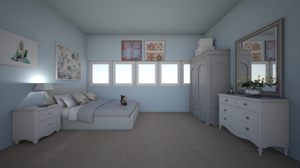bedroom idea - by Madelyn Kitteridge