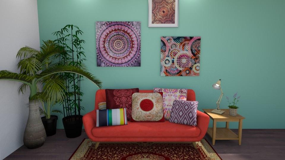 Boho Room - by delaaaaney