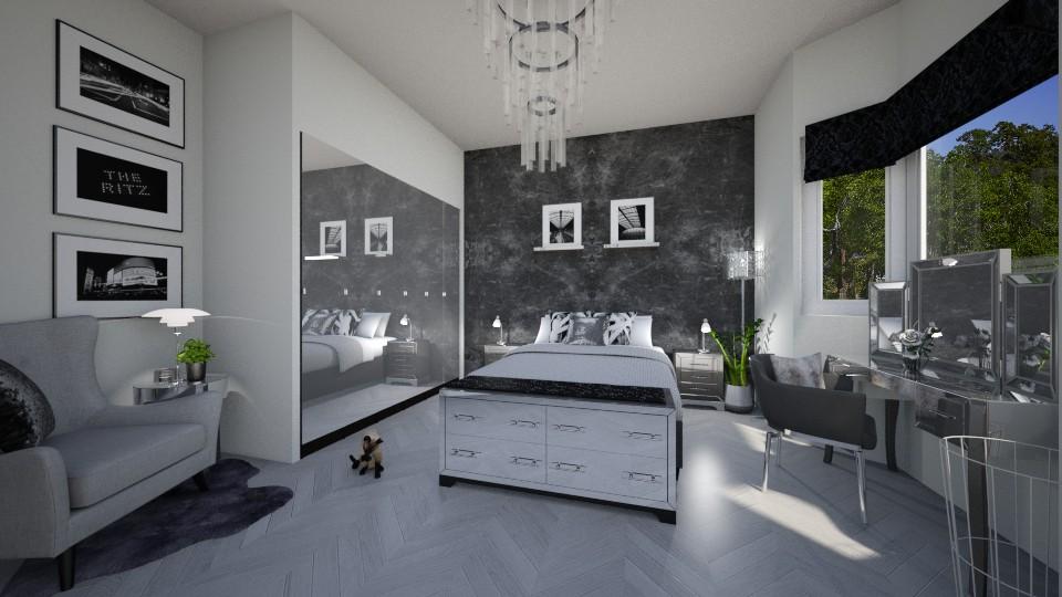 Monotone - Modern - Bedroom  - by tieganclayton