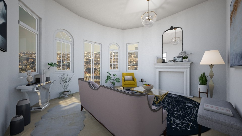parisian - Living room - by td123