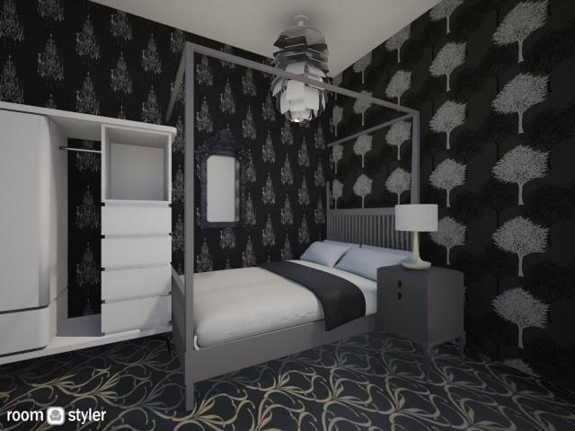 black and white - Modern - Bedroom - by zahrasav