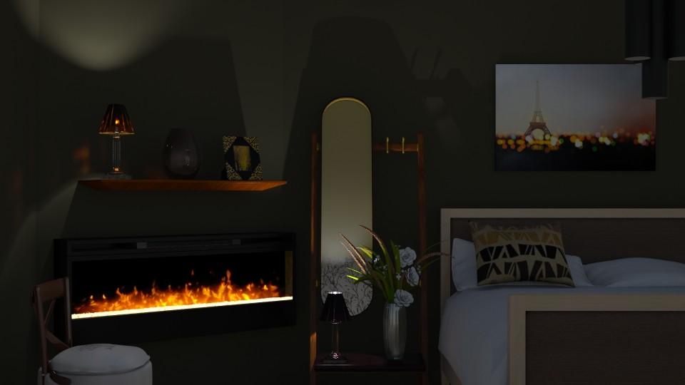 Light and dark - Modern - Bedroom - by augustmoon