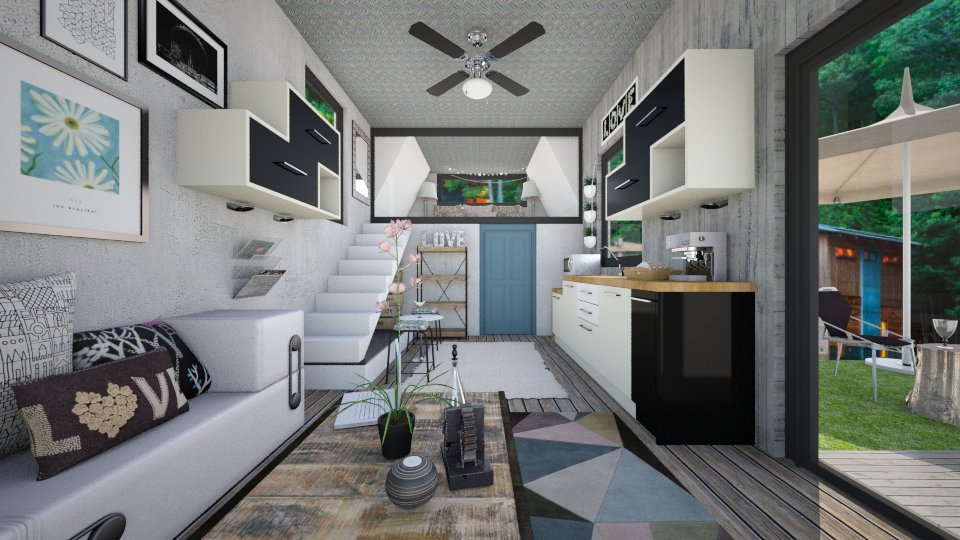 Tiny House Living - Living room - by steph01mami