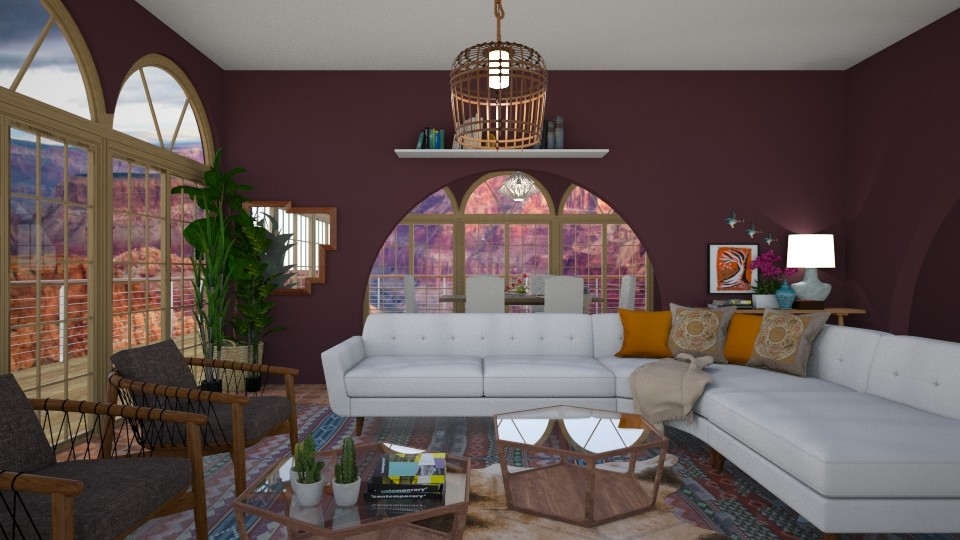 canyon - Living room - by rosej