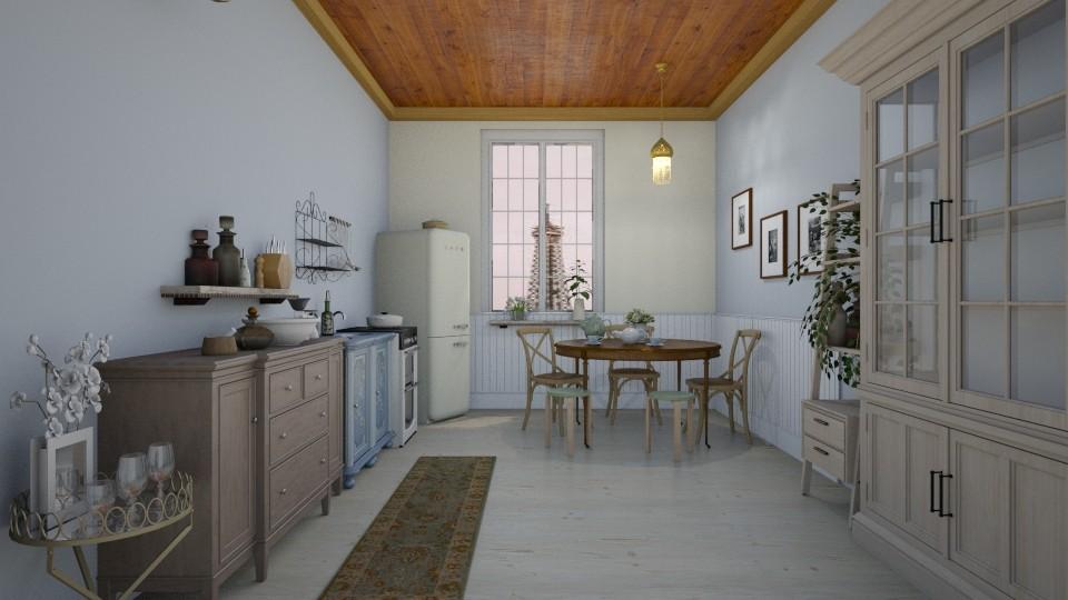 paris kitchen - Kitchen - by rebeca_scmoraes