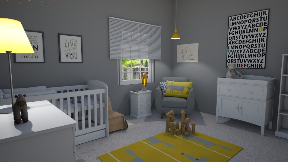 baby room - Kids room - by GraceRoomstyler
